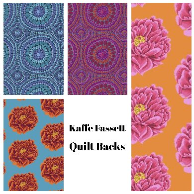 Kaffe Fassett Quilt Backs