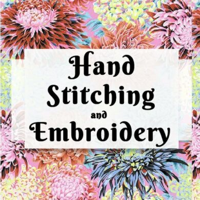 Hand Stitching and Embroidery