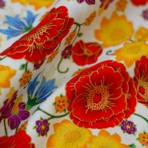 Florentine Garden by Hyun Joo Lee Cotton Quilting Fabric