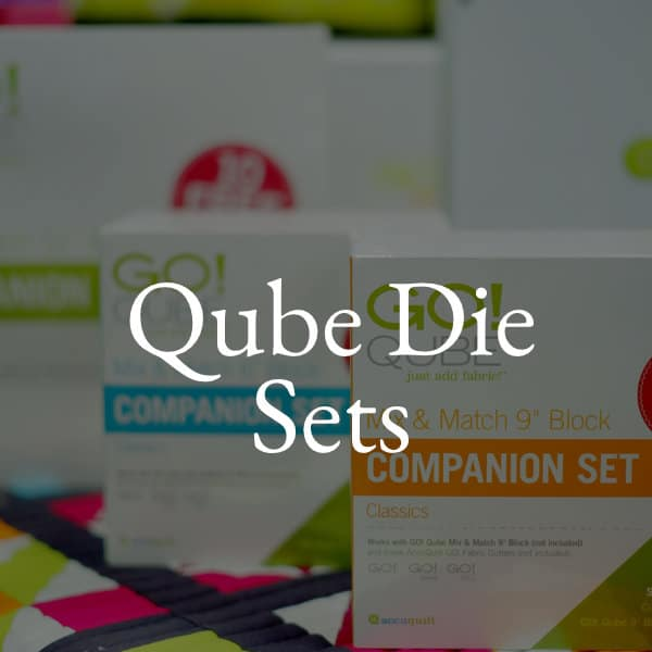 Accuquilt qube die sets