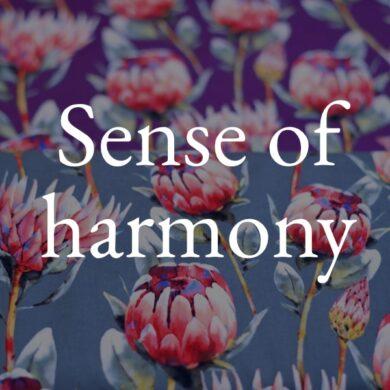 Sense Of Harmony