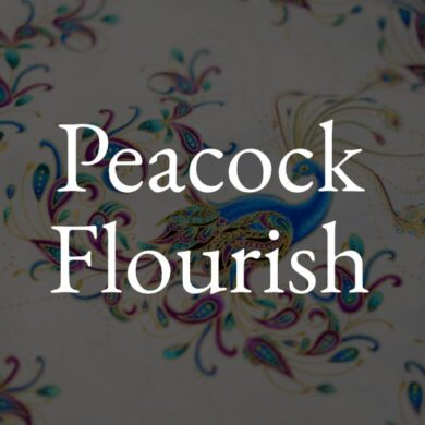 Peacock Flourish