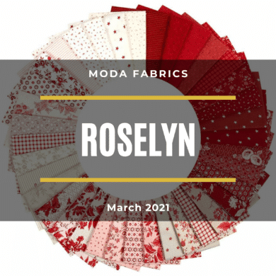Moda Roselyn Jelly Roll By Minick & Simpson