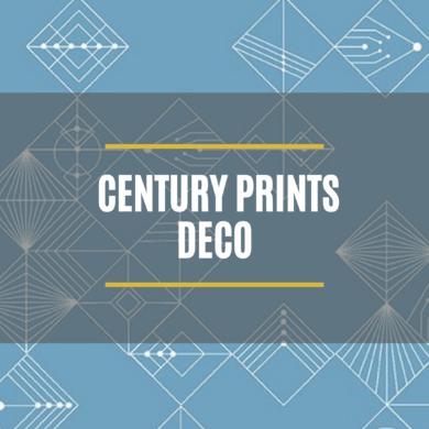 Century Print Deco